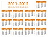 2011-2012 School Calendar