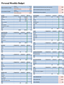 download personal monthly budget spreadsheet