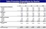 Free Download Sales promotion expenses