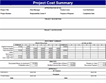 project estimate template excel