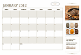 Free Download Small business calendar (any year, Mon-Sun)