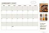 Free Download Small business calendar (any year, Sun-Sat)