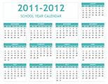 2012 calendar excel 10 free printable templates (xls/xlsx).