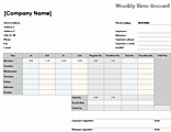 download weekly time sheet 8 1 2 x 11 landscape