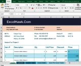 Small Business Invoice Software In Excel