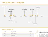 Excel Timeline Template