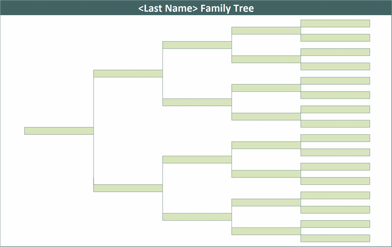 Download Family Tree Related Excel Templates For Microsoft Excel