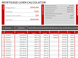 Download Mortgage Loan Calculator Amortization Schedule for Microsoft Excel 2013 or newer