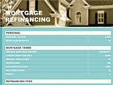 Mortgage Refinance Loan Break Even Calculator With Taxes