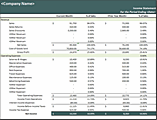 Download Percent Of Sales Income Statement Related Excel Templates – Income Statement Microsoft
