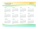 Download Small Business Calendar (any Year) for Microsoft Excel 2010