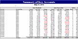 Summary Of Key Accounts