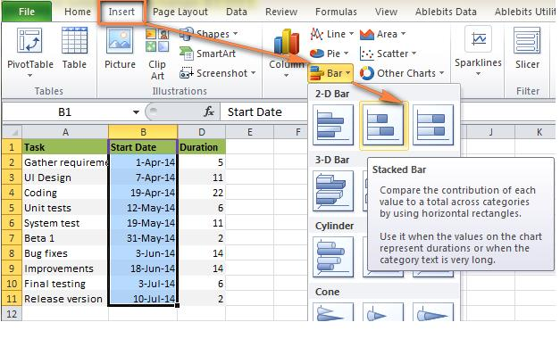 gantt chart excel template of excel templates and samples