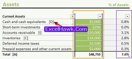 Balance Sheet Excel Template