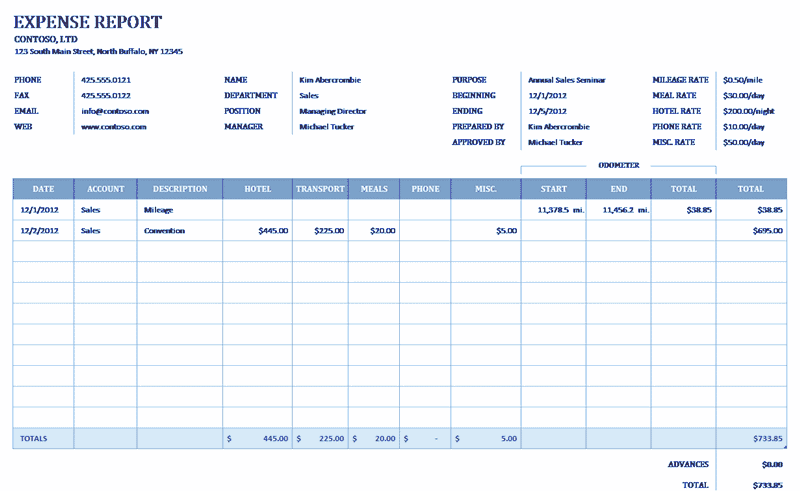 Download 04 Business Expense Reimbursement Form