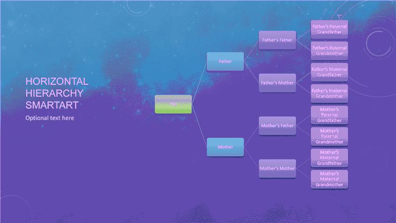 ms office family tree