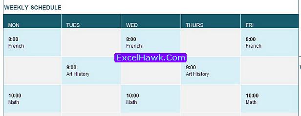 Free Student Calendar Planner