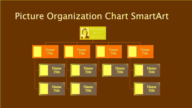 how to make an organizational chart in excel 2003